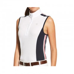 Polo Concurso Ariat Aptos Colorblock sin Mangas Mujer