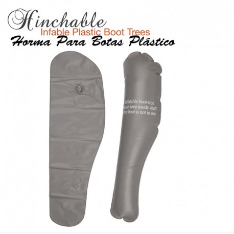 Horma Botas Plástico Inflable 1642
