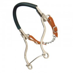 Bocado Sefton Hackamore Largo Inoxidable