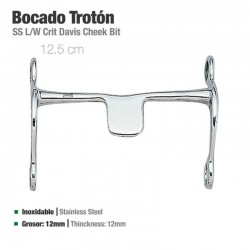 Bocado Trotón Inoxidable 21409