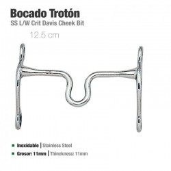 Bocado Trotón Inoxidable 21408