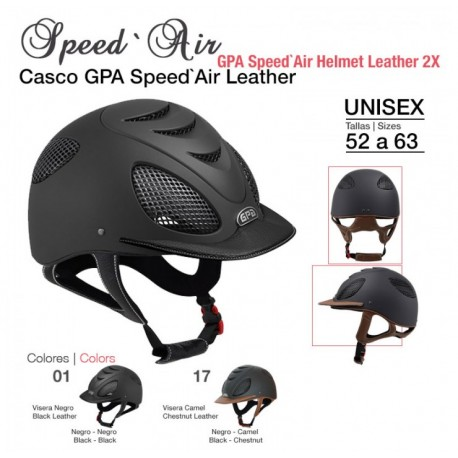 Casco GPA Cuero Speed Air
